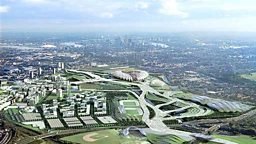 LONDON'S OLYMPIC SITE