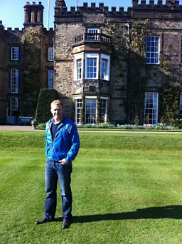 Adam Visits Renishaw Hall