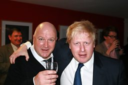 A historic meeting: Boris Johnson and Bob Crow