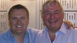 Aled chats to Christopher Biggins