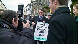 Photo: Mandelson out and about