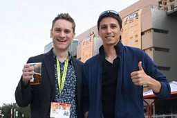 Gareth & James at South by Southwest Festival