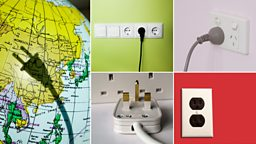Images of electrical plugs