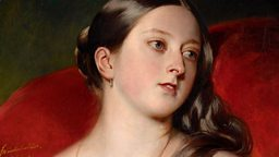 An intimate portrait of Queen Victoria by Franz Xaver Winterhalter (1805-1873)