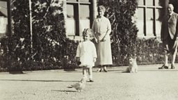 Photograph of Princess Elizabeth, taken by her father (1928)