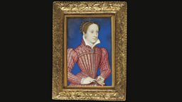 Portrait miniature depicting Mary Queen of Scots (1542-1587), by François Clouet (c.1520-1572)