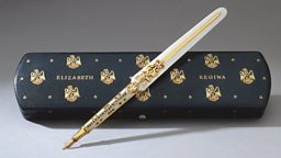 The Coronation Pen made by Francis J.C. Cooper