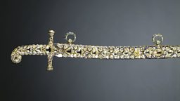 Sword and scabbard presented to Edward VII by the Maharajah of Jaipur