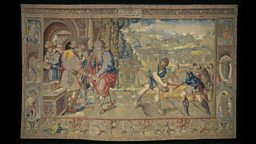 The Abraham Tapestries, probably designed and woven in Antwerp