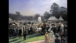 The Garden Party at Buckingham Palace 28 June 1897 by Laurits Regner Tuxen (1853-1927)
