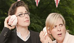 Mel and Sue - The Great British Bake Off