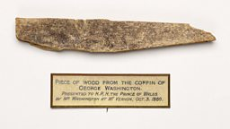 Fragment of George Washington's coffin
