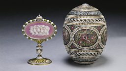 The Mosaic Egg, by Peter Carl Fabergé