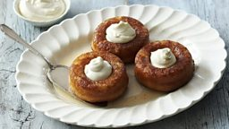 Rum babas - BBC Food - The Great British Bake Off