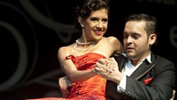 Dancers competing in the World Tango Championships 2012
