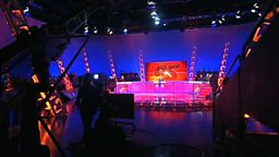 Question of Sport -behind the scenes image