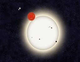 Artist impression of four star system