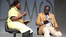 Marieme Jamme social entrepreneur, CEO SpotOne Global Solutions gives her views on the technologies presented at DEMO Africa