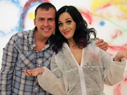 Scott Mills + Katy Perry