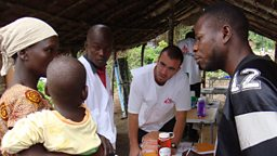 MSF vaccination campaign in a remote area of Congo Brazzaville