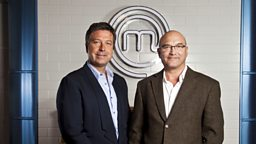Celebrity Masterchef - John Torode and Gregg Wallace