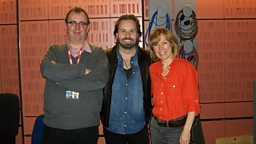 Richard, Alfie Boe and Sian