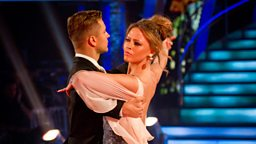 Kimberley and Pasha dance the Viennese Waltz to 'A Thousand Years'