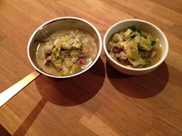 Rich Beef Soup with Onions & Leeks, Soup Celery Dumplings