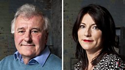 Professor Richard Fortey and Lucy Cooke