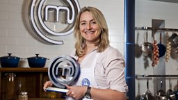 Emma Kennedy winning Masterchef