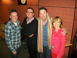 Paul Hodgkinson, Sian Williams, Richard Coles, Lee Mack