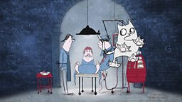 Still image from The Story of the Brain animation