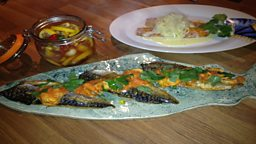 Mackerel with Mussels and Chermoula & One Dish Smoked Fish with Onions