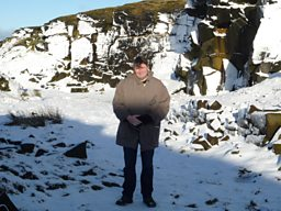 On Marsden Moor, West Yorkshire with poet Simon Armitage