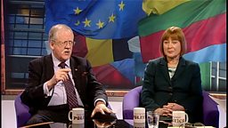 Roger Helmer and Mary Honeyball
