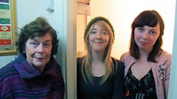 Katharine meets Vagenda editors Holly Baxter and Rhiannon Cosslett in the airing cupboard where Holly lived