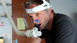 Michael Mosley exercising