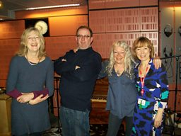 Deborah Moggach, Richard, Cathy Kinley and Sian