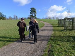 Toyah and Clare walk and talk in Worcestershire.