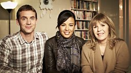 Jem Stansfield, Liz Bonnin and Maggie Philbin