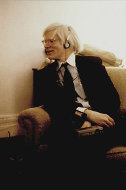 Andy Warhol in the Chelsea Hotel