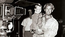Photo of Alan Ladd and his son David