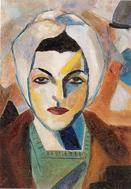 Self Portrait 1943 by Saloua Raouda Choucair