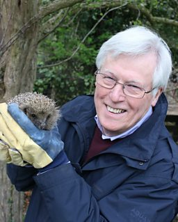 John with hedgehog