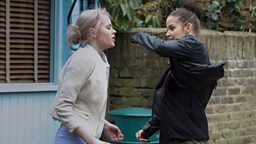 Lauren and Lucy fight