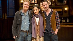 Glen Hansard, Zrinka Cvitesic and Declan Bennett-.jpg