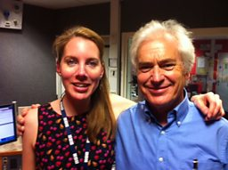 Laura with best selling author and neuroscientist Ian Robertson