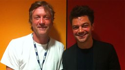 Richard Madeley and Dominic Cooper