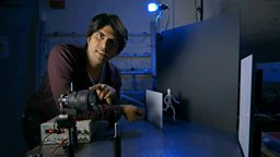 Alok Jha and a camera that can 'see' round corners