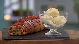 Episode 7 - Pastry - Ruby's Plum Jam Roly Poly with Ginger Ice Cream